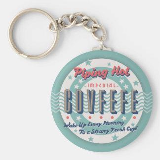Piping Hot Covfefe Key Ring