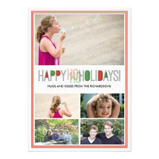 PiPo Press Ho Ho Holidays x5 Custom Invites