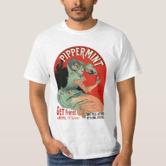 Pippermint -art nouveau design t shirt