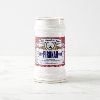 Piranah beer stein