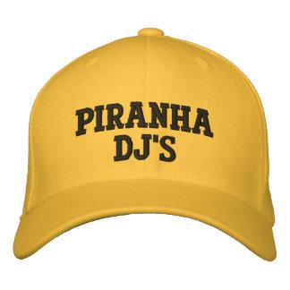 Piranha DJ's (DJ Cook Cap) Embroidered Baseball Caps