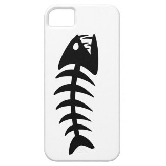 Piranha Fish Bone iPhone 5 Cases