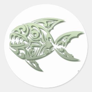 Piranha Sticker