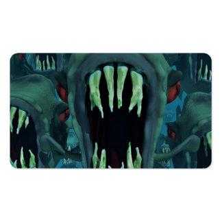Piranhas Fish Custom Personalize Anniversaries Pack Of Standard Business Cards