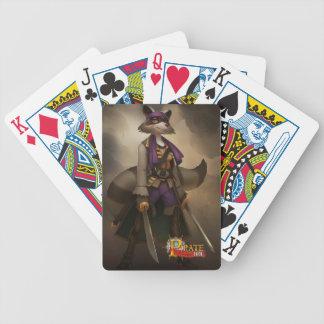 Pirate101 Morgan Lafitte Bicycle Poker Cards