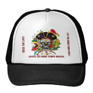 Pirate-2 SEIZE THE LIFE! Mesh Hats
