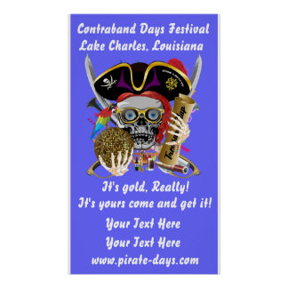 """Pirate 35"""" X 60"""" Resize 35 Back Colors View About Poster"""