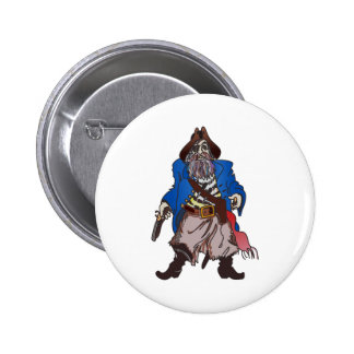 PIRATE 6 CM ROUND BADGE
