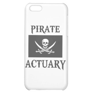 Pirate Actuary iPhone 5C Covers