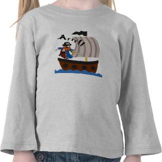 Pirate and pirate ship shirt t-shirt