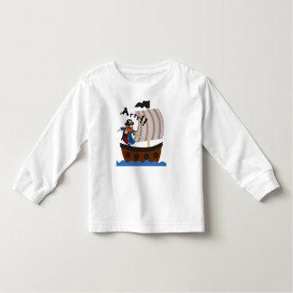 Pirate and pirate ship shirt