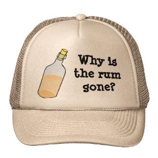 Pirate and Rum Cap