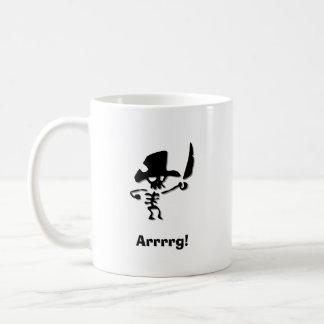 Pirate Arrrrg Coffee Mug