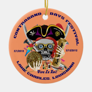 Pirate Auto Dual Logo Bicentennial  Pls View Notes Christmas Ornaments