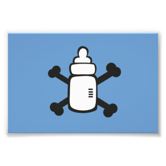 Pirate Baby bottle Art Photo