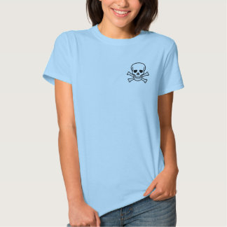 Pirate Babydoll: I think, therefore I am 3 T Shirt