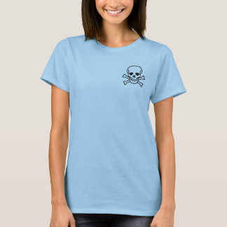 Pirate Babydoll: I think, therefore I am 3 T-Shirt