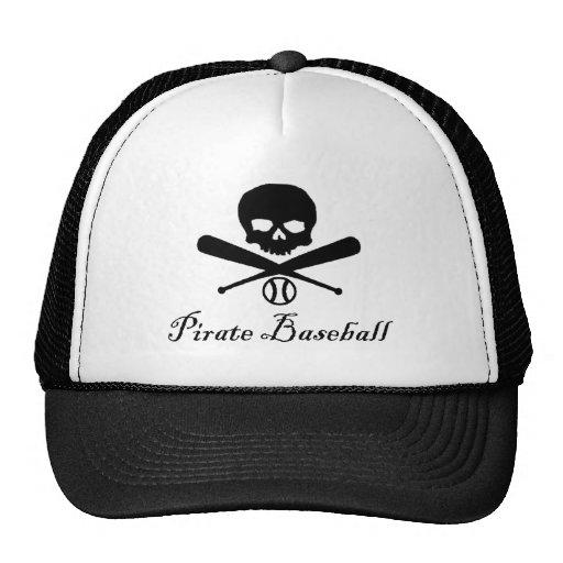 Pirate Baseball Trucker Hat