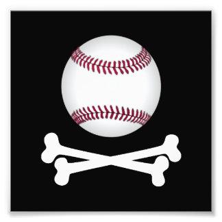 Pirate Baseball Photo Print