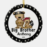 Pirate Big Brother Christmas Ornament