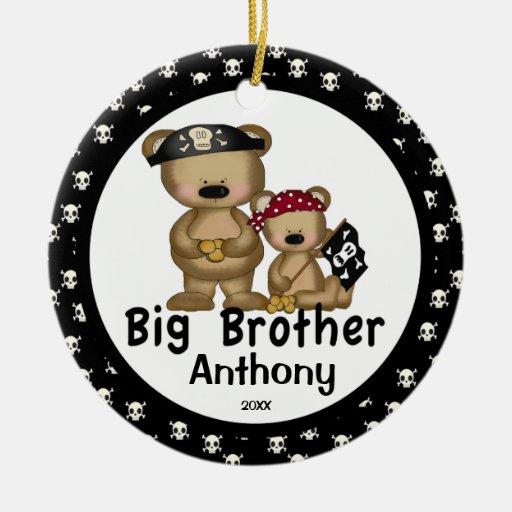 Pirate Big Brother Christmas Ornament