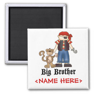 Pirate Big Brother Magnet