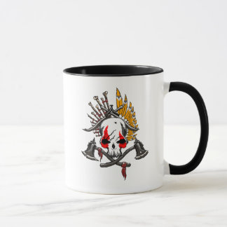 Pirate Black 325 ml  Ringer Combo Mug