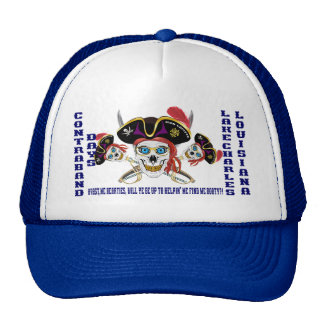 Pirate Booty IMPORTANT Read About Design Mesh Hat