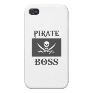 Pirate Boss iPhone 4/4S Covers