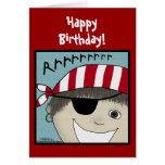 Pirate Boy Rrrrrr Greeting Cards