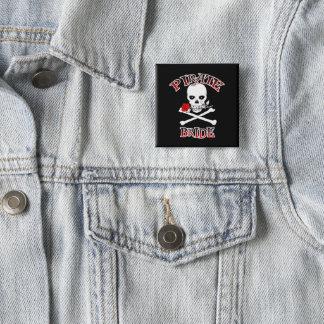 Pirate Bride 15 Cm Square Badge
