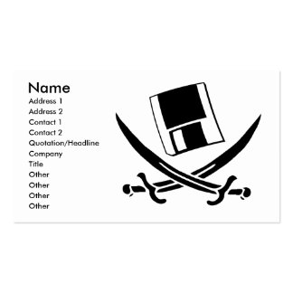 Pirate business card