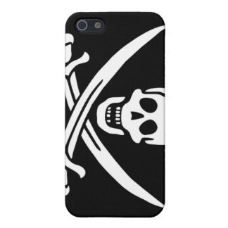 Pirate Captain Calico Jack iPhone 5/5S Case