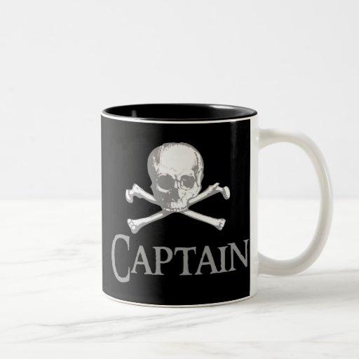 Pirate Captain Coffee Mugs