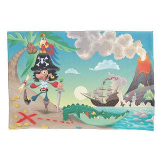 Pirate Cartoon (2 sides) Pillowcase