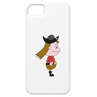 Pirate Cartoon Character. iPhone 5 Case