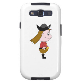 Pirate Cartoon Character Galaxy S3 Case