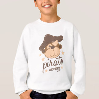 Pirate cartoon cool sweatshirt