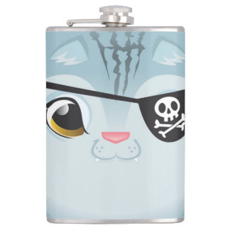Pirate Cat Flask