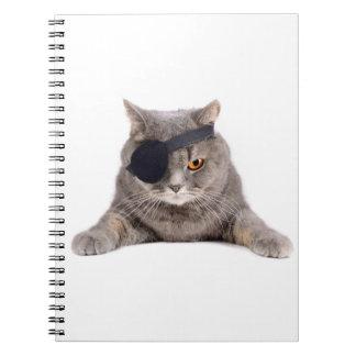 Pirate Cat Notebook
