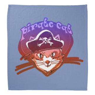 pirate cat sweet cartoon bandana
