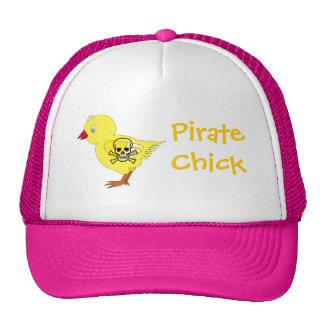 Pirate Chick Mesh Hats