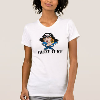 Pirate Chick Tattoo T Shirts