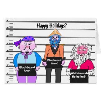 Pirate - Christmas card