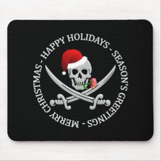 Pirate Christmas mousepad