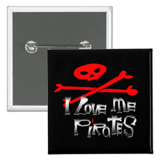 Pirate Contest!!! 15 Cm Square Badge