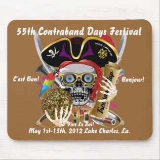 Pirate Contraband Days 30 Colors Mouse Pad