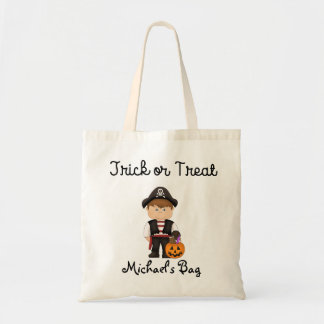 Pirate costume Trick or Treat Bag