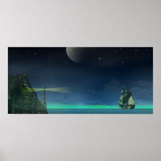 Pirate Cove Print