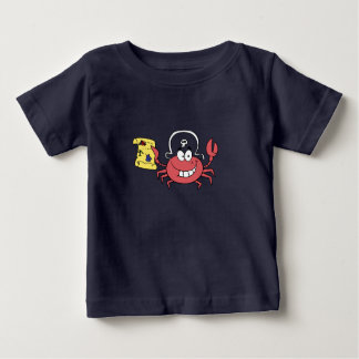 Pirate Crab Baby T-Shirt